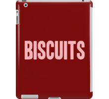 Pageant Material: Biscuits [Song Title] iPad Case/Skin