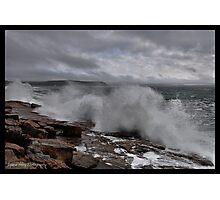 Breaking Storm Photographic Print