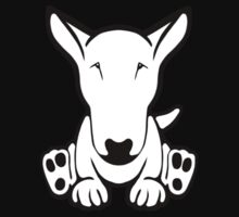 English Bull Terrier Strange Sit  Baby Tee