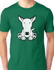 English Bull Terrier Strange Sit  Unisex T-Shirt