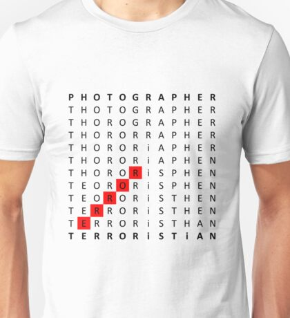 From P to T Unisex T-Shirt