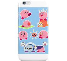 Kirby Sticker Sheet iPhone Case/Skin