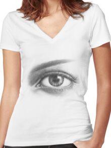 ORIGINAL Women's Fitted V-Neck T-Shirt