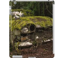 A (non) rolling car gathers some moss iPad Case/Skin