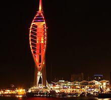 Glowing Harbour by Jane Burridge