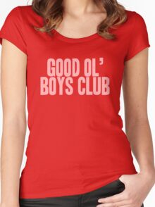 Pageant Material: Good Ol' Boys Club [Song Title] Women's Fitted Scoop T-Shirt