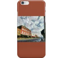 Parting Clouds Over Franklin, NC iPhone Case/Skin
