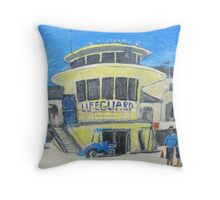 Bondi Rescue Australia Throw Pillow