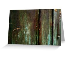 Dial R for Rust Greeting Card