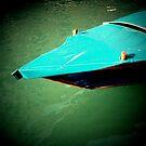 Blue boat by Richard Pitman