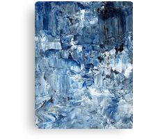 Ebb and flow across lost ice paradise Canvas Print