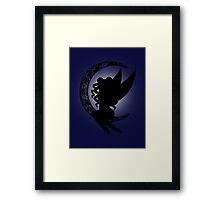 Moon Fairy Framed Print
