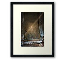 Crucifixition in Ruin Framed Print