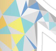 Polygonal Penguin Sticker