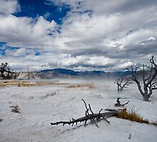 Yellowstone hot springs by starsofglass