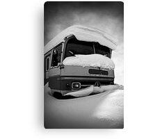 Frozen Merc Canvas Print
