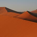 Mountain range of sand by christopher363