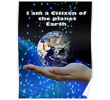 Earth Citizenship  Poster