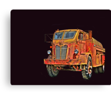 Water Truck  from Corvallis Oregon Canvas Print