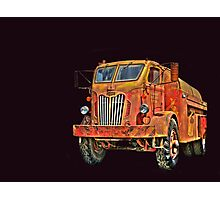 Water Truck  from Corvallis Oregon Photographic Print