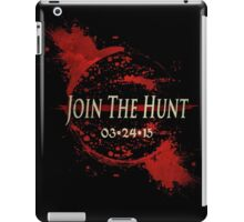 BLOODBORNE: JOIN THE HUNT iPad Case/Skin