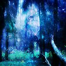 Blue night wood by armine12n