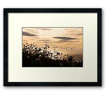 Madeira sunrise Framed Print