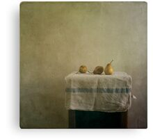 pears still life Canvas Print