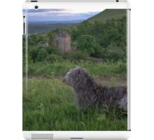 millie at castle campbell iPad Case/Skin