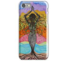 Gaia Celebrating Mother Tree iPhone Case/Skin