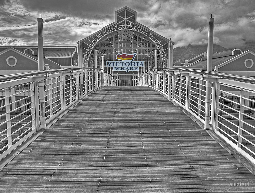 Victoria Wharf by awefaul