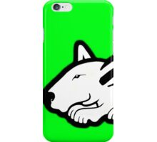 English Bull Terrier Planning Trouble iPhone Case/Skin