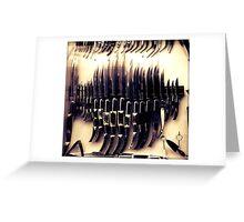 Blade Greeting Card