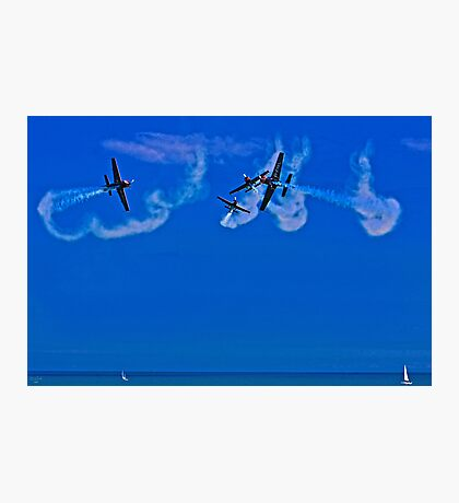 Crazy Flying Aces at Airbourne, Eastbourne Photographic Print
