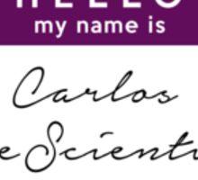 Hi, I'm Carlos Sticker
