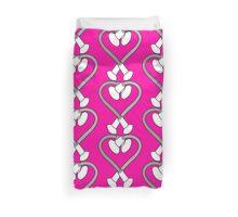 Baton Twirling Heart Design  Duvet Cover