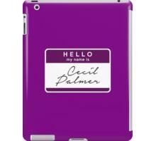 Hi, I'm Cecil iPad Case/Skin