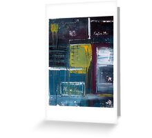 Forgive Me Abstract Texture Modern Art Greeting Card