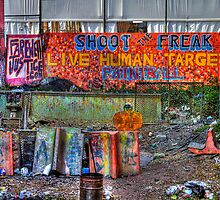 Shoot the freak by Evelina Kremsdorf