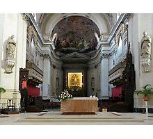 Altar of the Santa Maria Assunta - Palermo Cathedral  Photographic Print