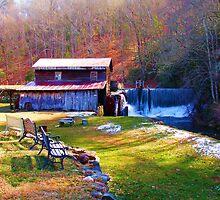 Skeenah Creek Mill by Janie Oliver