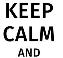 keep calm and play violin Sticker