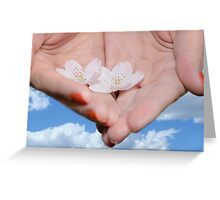 Heavenly Blossoms Greeting Card