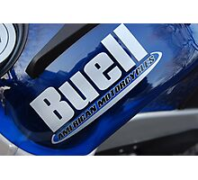 """""""Buell American Motorcycles"""" Photographic Print"""