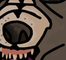 Dennis Mask Sticker
