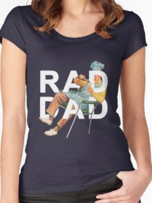 Rad Dad Women's Fitted Scoop T-Shirt
