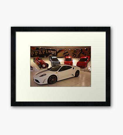 Ferrari Family Values II. Galeria Ferrari, Maranello, Italy 2009 Framed Print