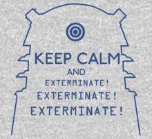 Keep Calm EXTERMINATE Kids Clothes