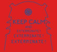 Keep Calm EXTERMINATE One Piece - Short Sleeve