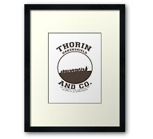Thorin & Co. {Without symbol} Framed Print